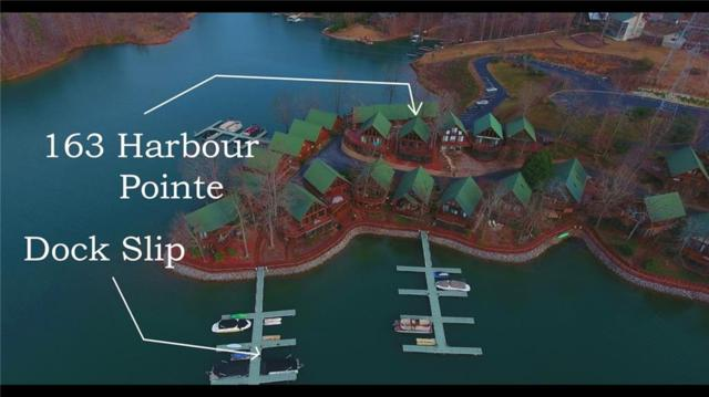 163 Harbour Pointe, Six Mile, SC 29682 (MLS #20213219) :: Allen Tate Realtors
