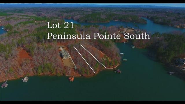 Lot 21 Peninsula Pointe South, West Union, SC 29696 (MLS #20213505) :: Tri-County Properties