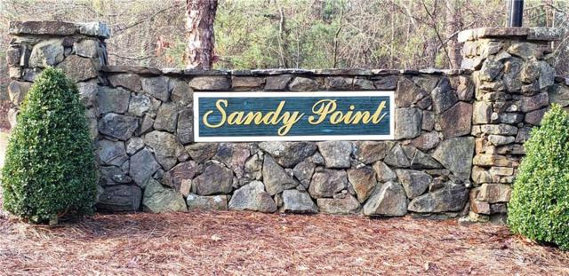 200 Sandy Point Drive, Anderson, SC 29625 (MLS #20213616) :: The Powell Group