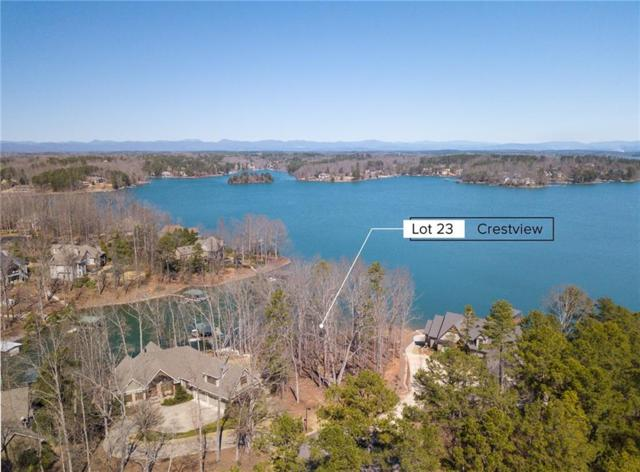 Lot 23 Crestview/ 133 Crest Pointe Dr, Seneca, SC 29672 (MLS #20213828) :: The Powell Group