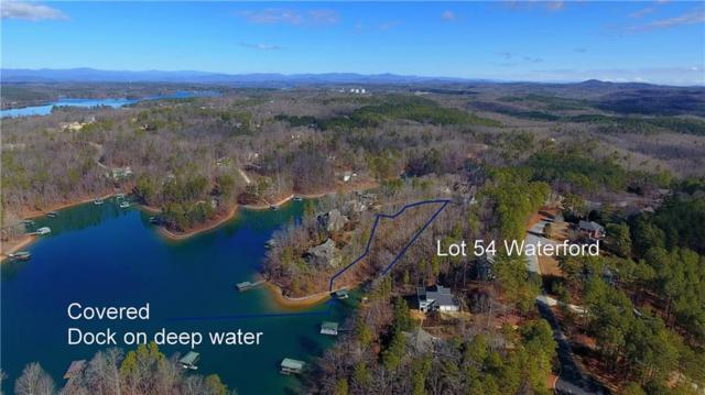 Lot 54 Waterford, Seneca, SC 29672 (MLS #20213964) :: The Powell Group