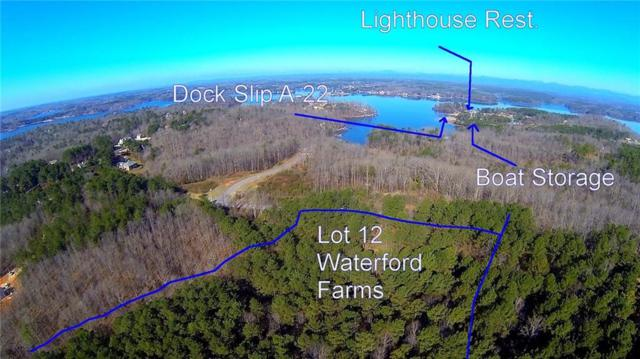 Lot 11 Waterford Farms, Seneca, SC 29672 (MLS #20213966) :: The Powell Group