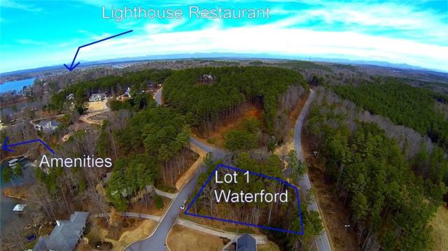 Lot 1 Wild Oak Court, Seneca, SC 29672 (MLS #20213968) :: The Powell Group