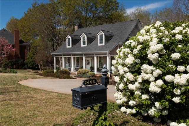 1406 Cross Creek Drive, Seneca, SC 29678 (MLS #20215047) :: Les Walden Real Estate