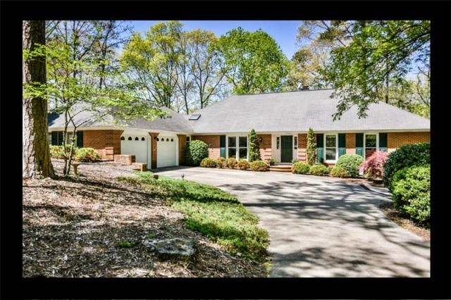1210 Cane Creek Drive, Seneca, SC 29672 (#20215448) :: Connie Rice and Partners