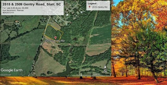 2515 Gentry Road, Starr, SC 29684 (MLS #20215505) :: The Powell Group