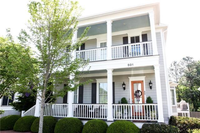 501 Village Walk Lane, Clemson, SC 29631 (MLS #20216392) :: Les Walden Real Estate