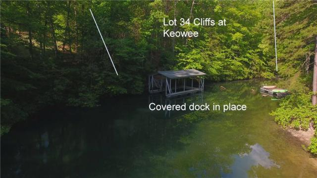 Lot 34 Cliffs At Keowee Trail, Sunset, SC 29685 (#20216397) :: Connie Rice and Partners