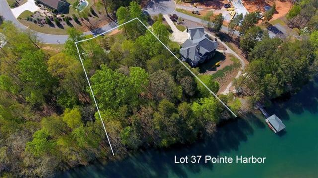 Lot 37 Pointe Harbor, Seneca, SC 29672 (#20216399) :: Connie Rice and Partners