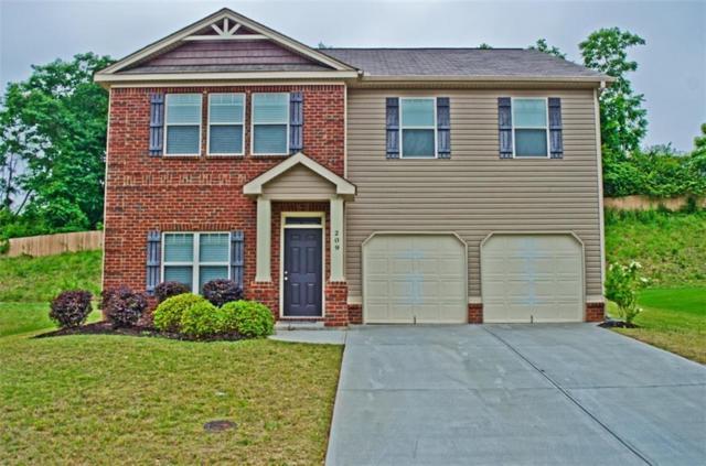 209 Winespring Place, Simpsonville, SC 29681 (MLS #20217374) :: Les Walden Real Estate