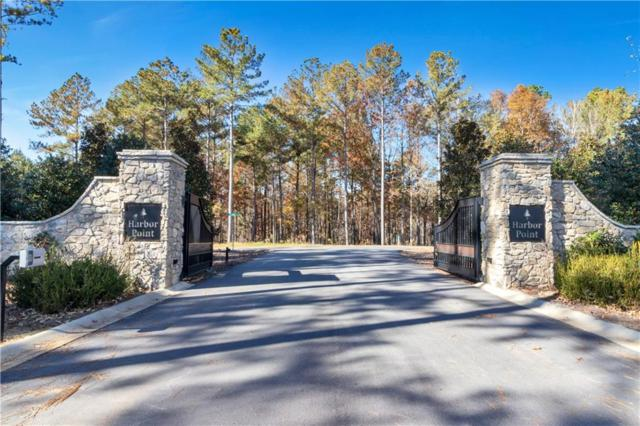 Lot 67 Harbor Point Road, Seneca, SC 29672 (#20218440) :: Connie Rice and Partners