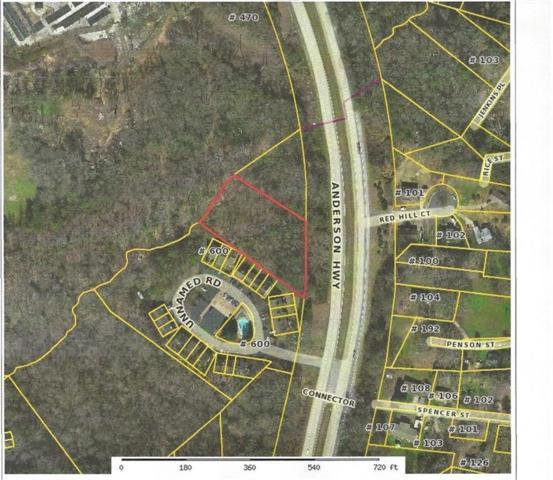 W/Side Anderson Highway, Clemson, SC 29631 (MLS #20218700) :: Les Walden Real Estate