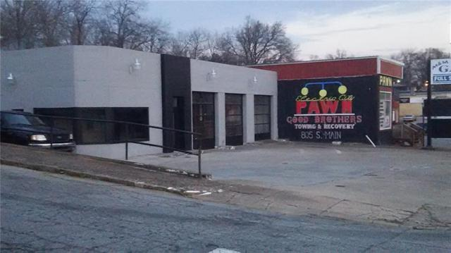 803 Main Street, Anderson, SC 29624 (MLS #20219898) :: Les Walden Real Estate