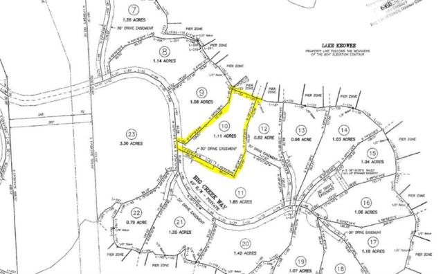 549 Big Creek Way, Salem, SC 29676 (MLS #20220018) :: Tri-County Properties