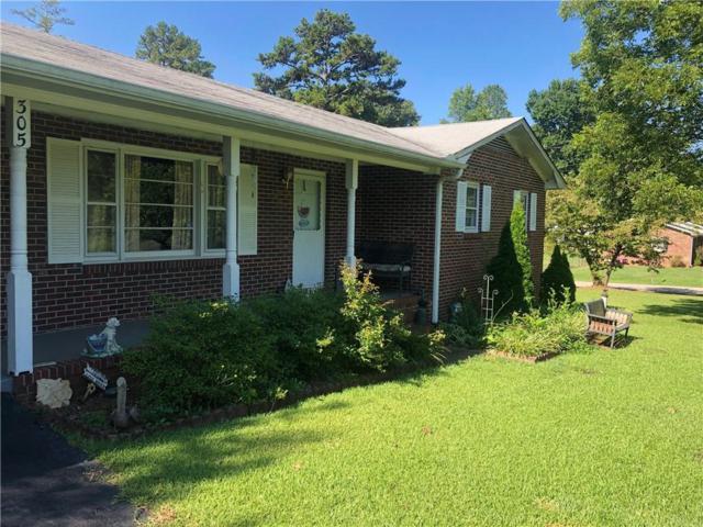 305 Evergreen Forest Drive, Seneca, SC 29678 (MLS #20220086) :: Les Walden Real Estate