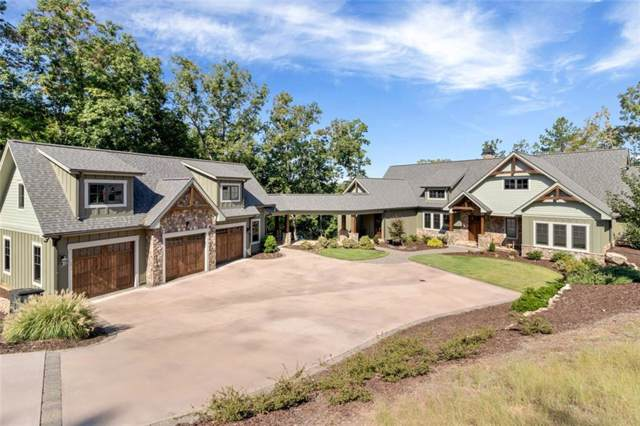 307 Shore Vista Trail, Six Mile, SC 29682 (MLS #20221183) :: Les Walden Real Estate