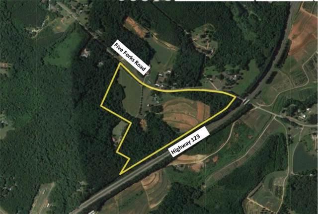 578 Five Forks Road Road, Liberty, SC 29657 (MLS #20221272) :: Les Walden Real Estate