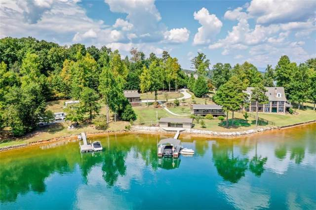 113 Shady Cove, Six Mile, SC 29682 (MLS #20221275) :: Tri-County Properties at KW Lake Region