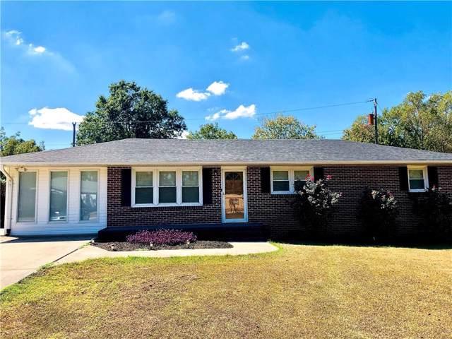213 Park Drive, Iva, SC 29655 (MLS #20222027) :: Les Walden Real Estate