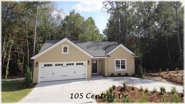 105 Central Drive, Seneca, SC 29672 (MLS #20222126) :: Tri-County Properties at KW Lake Region