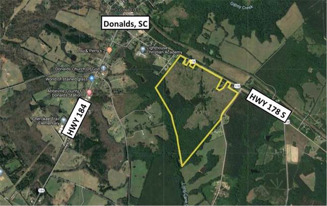 0 178 Highway, Donalds, SC 29638 (MLS #20222214) :: The Powell Group