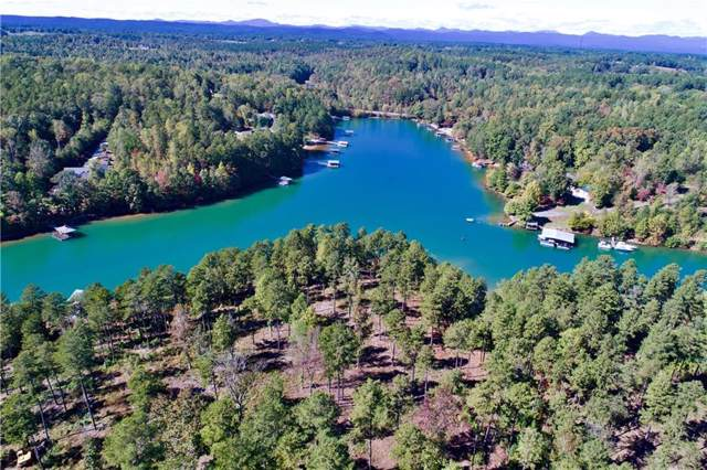 Lot 17 Bay Harbor Lane, Seneca, SC 29672 (MLS #20222226) :: Tri-County Properties at KW Lake Region
