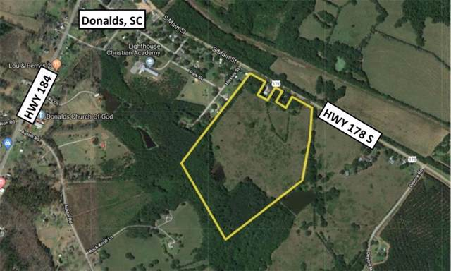 0 178 Highway, Donalds, SC 29638 (MLS #20222362) :: The Powell Group