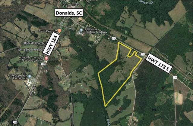 0 178 Highway, Donalds, SC 29638 (MLS #20222363) :: The Powell Group