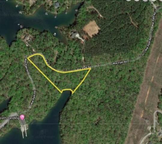 0 War Path Road, Six Mile, SC 29682 (MLS #20222367) :: Les Walden Real Estate