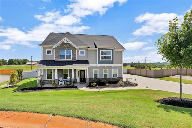 208 N Harvest Moon Way, Easley, SC 29642 (MLS #20222725) :: Tri-County Properties at KW Lake Region