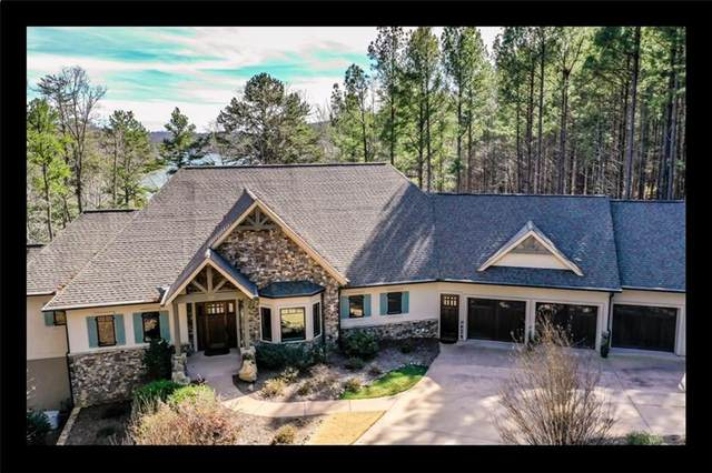 133 Cross Lake Trail, Six Mile, SC 29682 (MLS #20223512) :: The Powell Group