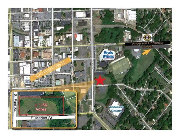 NA S. Fant Street & E. Market Street Street, Anderson, SC 29624 (MLS #20223536) :: Tri-County Properties at KW Lake Region