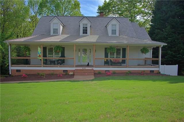 401 Glen Laurel Drive, Easley, SC 29642 (MLS #20223941) :: Les Walden Real Estate