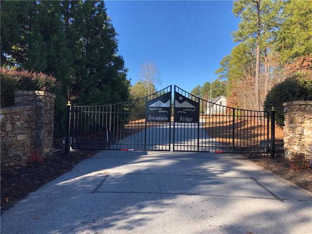 00 Jocassee Ridge Way, Salem, SC 29676 (MLS #20224292) :: Tri-County Properties at KW Lake Region