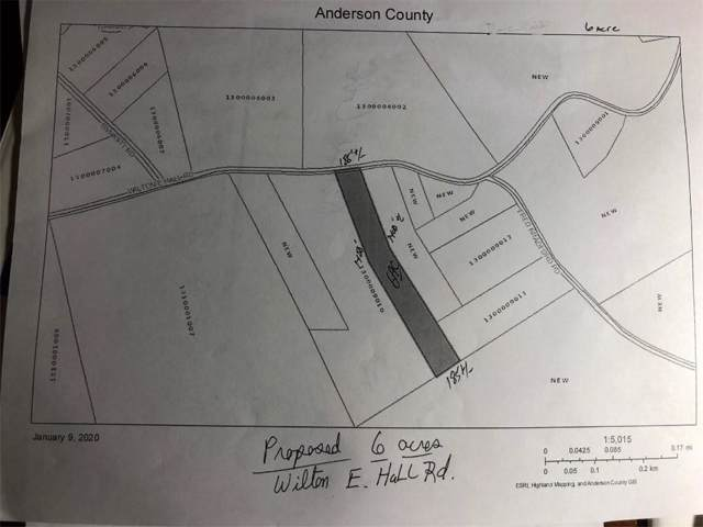 00 Wilton E. Hall Road, Starr, SC 29684 (MLS #20224570) :: Tri-County Properties at KW Lake Region