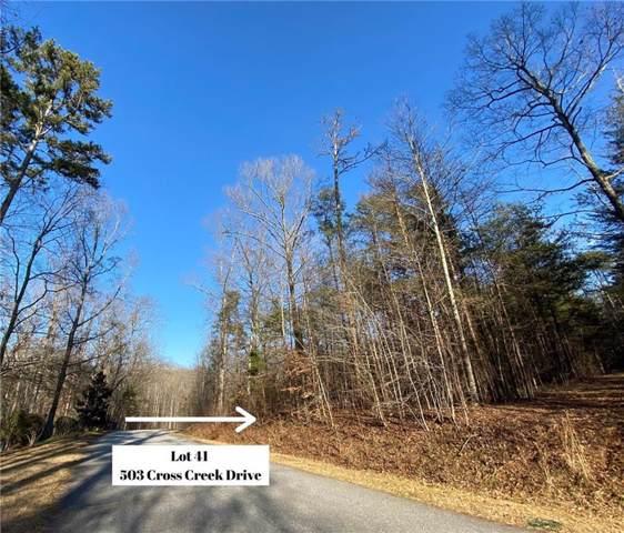 503 Cross Creek Drive, Seneca, SC 29679 (MLS #20224679) :: Prime Realty