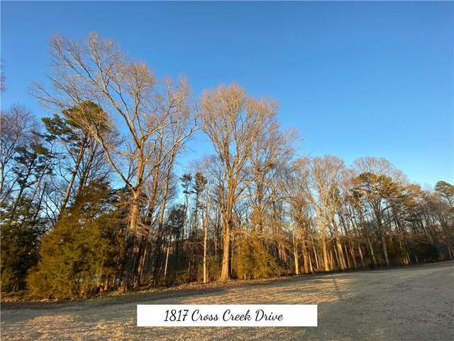 1817 Cross Creek Drive, Seneca, SC 29679 (MLS #20224690) :: The Powell Group