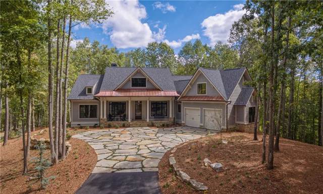 109 Tranquil Cove, Six Mile, SC 29682 (MLS #20224840) :: Les Walden Real Estate