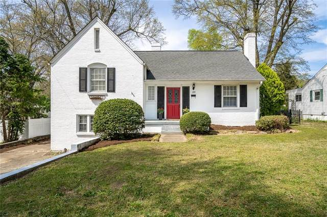 124 Glenwood Avenue, Anderson, SC 29621 (MLS #20226909) :: The Powell Group