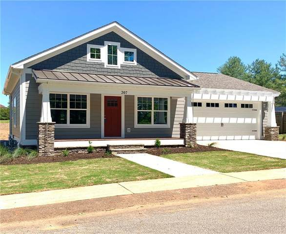 207 Pendleton Street Extension, Pickens, SC 29671 (MLS #20228267) :: Les Walden Real Estate