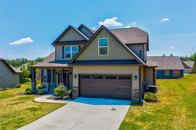 443 Copperstone Drive, Seneca, SC 29678 (MLS #20228312) :: Tri-County Properties at KW Lake Region