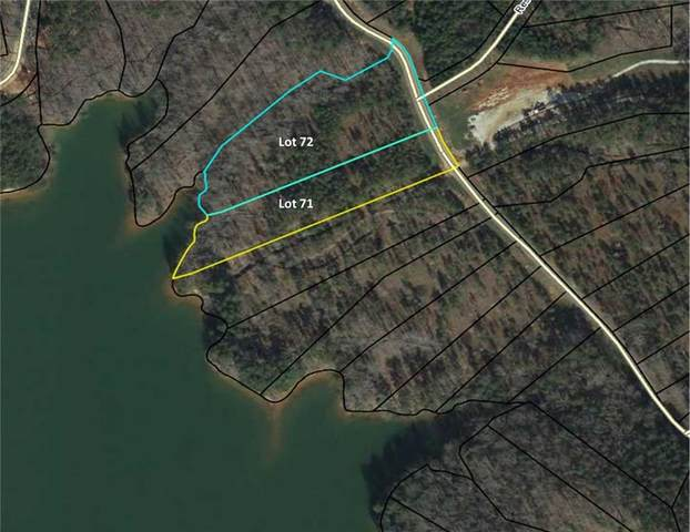Lot 71 & 72 Mcalister Road in Peninsula Pointe Road, West Union, SC 29696 (#20228765) :: J. Michael Manley Team