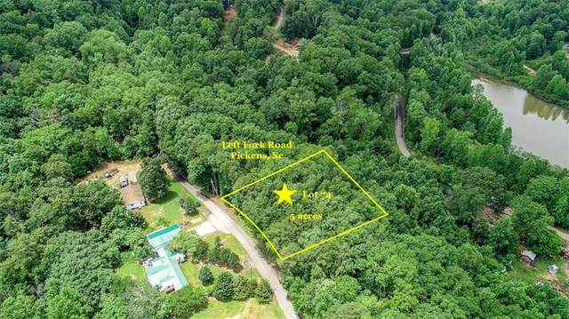Lot 74 Left Fork Road, Pickens, SC 29671 (MLS #20229032) :: The Powell Group