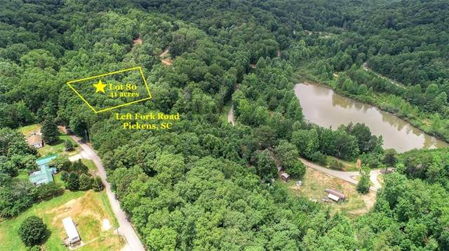 Lot 80 Left Fork Road, Pickens, SC 29671 (MLS #20229034) :: The Powell Group