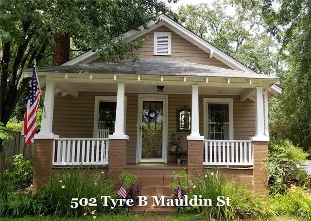 502 Tyre B Mauldin Street, Walhalla, SC 29691 (MLS #20229505) :: Les Walden Real Estate