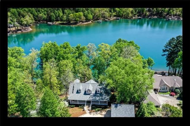 6015 Lake Point East Drive, Seneca, SC 29672 (MLS #20230022) :: The Powell Group