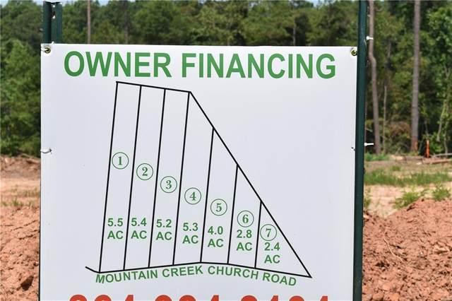 Lot 7 Mountain Creek Church Road, Anderson, SC 29626 (MLS #20230396) :: Tri-County Properties at KW Lake Region