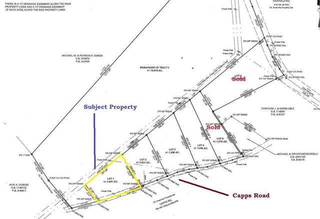 01 Capps Road, Walhalla, SC 29691 (MLS #20230513) :: The Powell Group