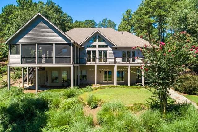 128 N Waterside Drive, Seneca, SC 29672 (MLS #20230635) :: Les Walden Real Estate