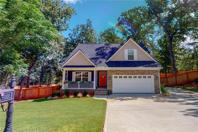 122 Running Fox Lane, Belton, SC 29627 (MLS #20231818) :: The Powell Group